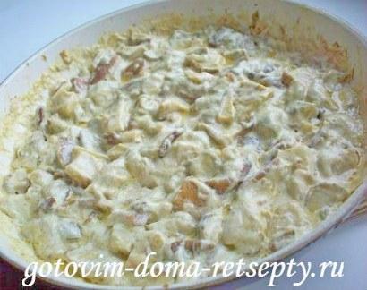 грибы жареные в сметане рецепты 4