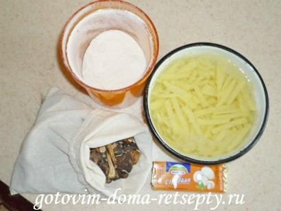 грибной суп из сушеных грибов 2