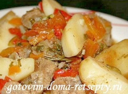 тушеное мясо, рецепты 3