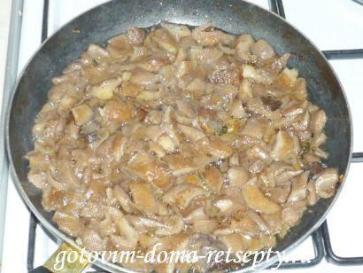 тушеное мясо с грибами 3