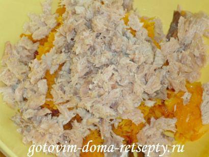 салат из красной рыбы с огурцами 9