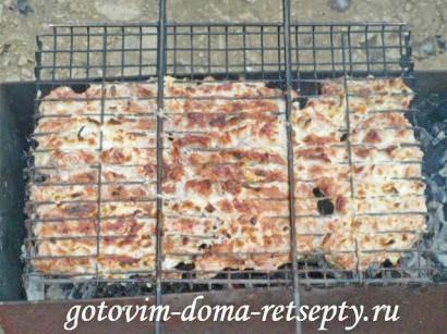 отбивные из свинины на решетке 10