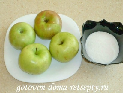печеные яблоки в духовке 1