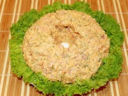 салат с семгой слабосоленой 3