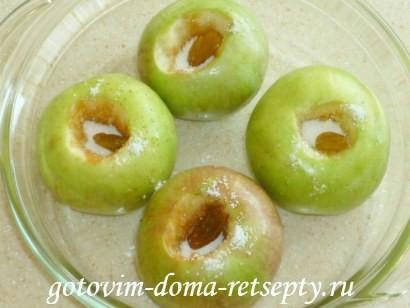 печеные яблоки рецепт в микроволновке 3