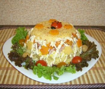 салат рецепты с фото