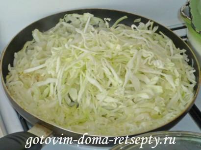 как жарить капусту