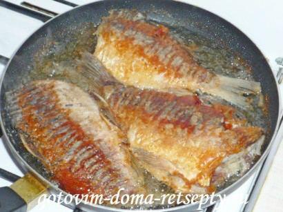 караси жареные рецепт на сковороде 8