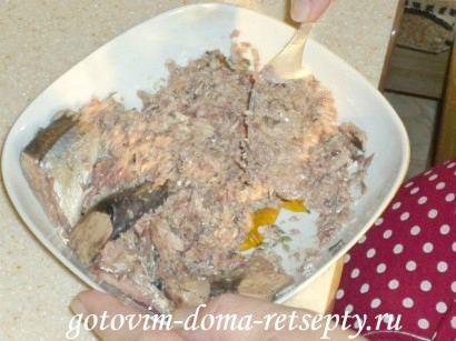 салат мимоза с сайрой 13