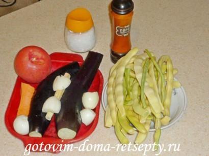 овощное рагу из баклажанов 1