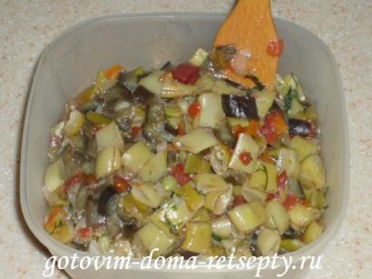 овощное рагу из баклажанов 6