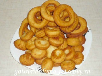пончики на сгущенке