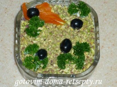 салат с курицей и ананасами рецепты