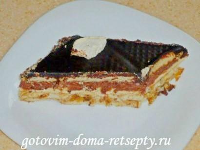 торт из печенья без выпечки с творогом 17
