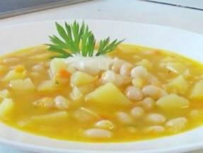 Рецепты: суп с фасолью