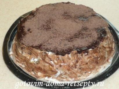 бисквитный торт на сметанном креме