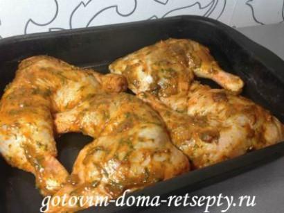 куриные окорочка рецепт в духовке 5