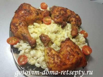 куриные окорочка рецепт в духовке 8