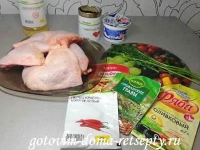 куриные окорочка рецепт в духовке 9