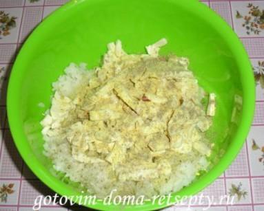 слоеные пирожки с рисом и сыром 5