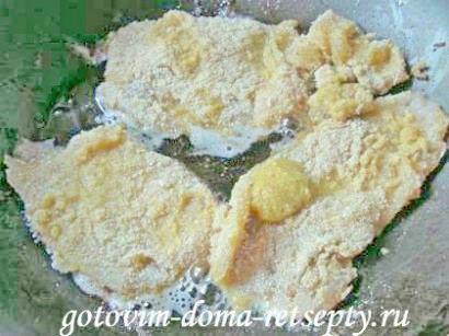 отбивные из куриного филе в кляре 2