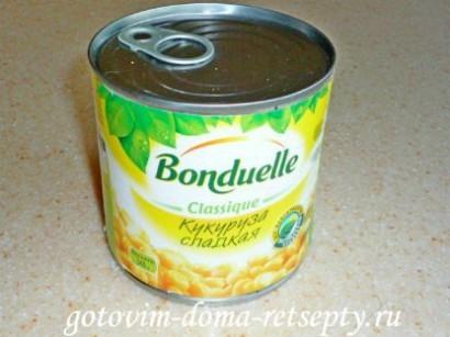 салаты из ананаса и курицы: с кукурузой, огурцом - рецепты 9