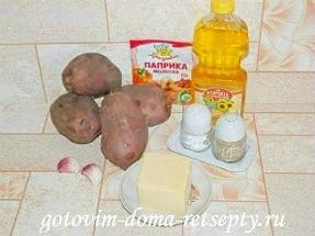 запеченный в духовке картофель с сыром