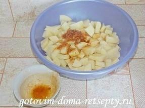 запеченный в духовке картофель с сыром 8