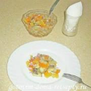 салат из запеченных овощей