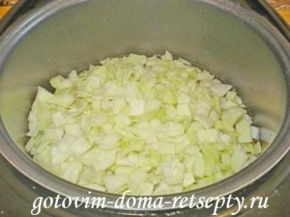 овощи с курицей в мультиварке 10