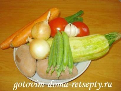 овощи с курицей в мультиварке 4