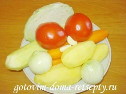 овощи с курицей в мультиварке 5