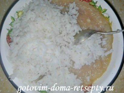 перец фаршированный рисом и куриным фаршем 6