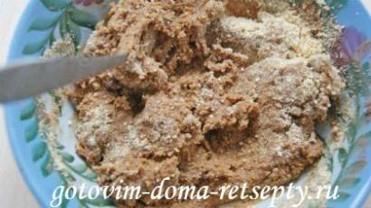 пирожное картошка, рецепт из печенья 6