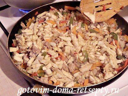 запеченные в духовке баклажаны фаршированные мясом 10