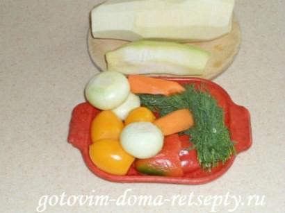мясо с кабачками и помидорами 5