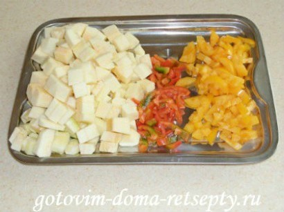 мясо с кабачками и помидорами 6