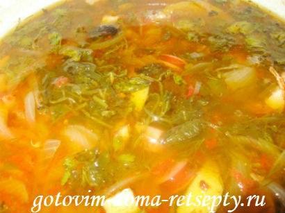 Солянка без огурцов пошаговый рецепт с фото