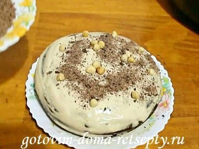 шоколадный торт в мультиварке 17