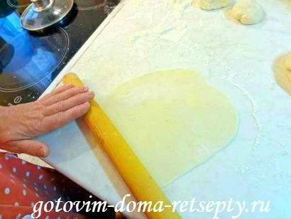 чебуреки с мясом, тесто для рецепта 9