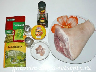 свиная рулька запеченная в духовке 2