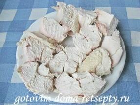 Куриная грудка с яблоками и черносливом 3