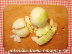 куриные отбивные с сыром и грибами 6
