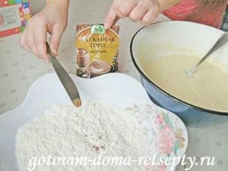 пирожки с картошкой и грибами, в духовке 3