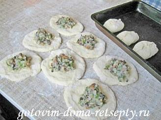 пирожки с картошкой и грибами, в духовке 9