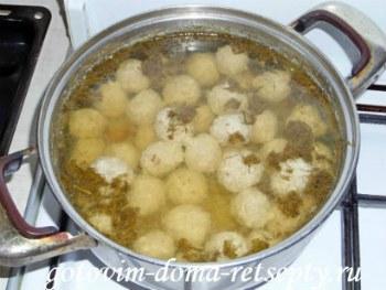 суп с фрикадельками, рецепт с фото 11