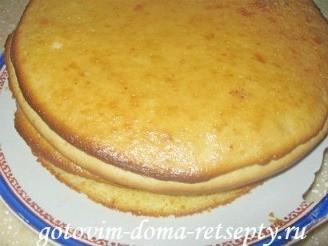 пирог с лимонным кремом 9