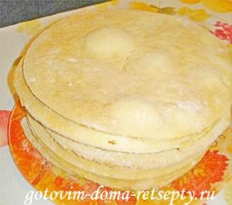 торт медовик с заварным кремом 10