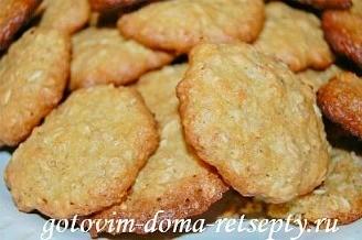 овсяное печенье с кокосовой стружкой 9
