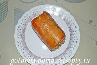 свиной рулет, рецепт в духовке 6